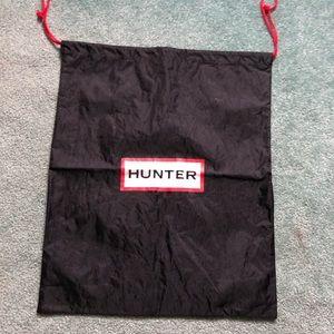 Hunter Drawstring Boot Bag - Black